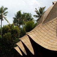 Dezeen Awards 2021 sustainability public vote winners feature a bamboo school in Bali