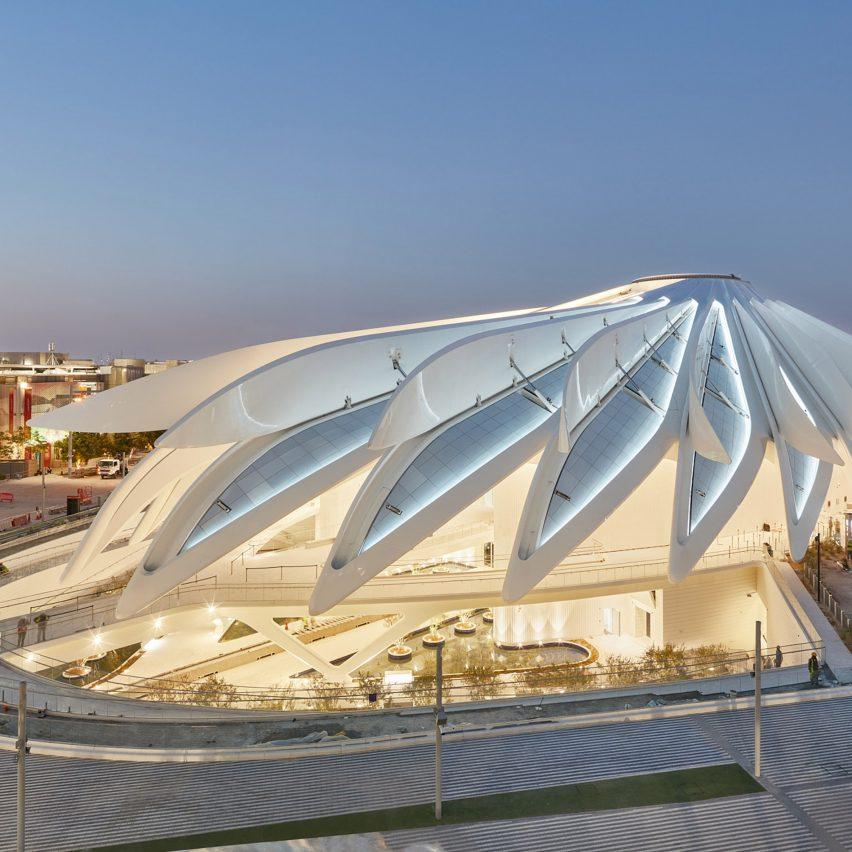 Santiago Calatrava Dubai Expo pavilion for UAE