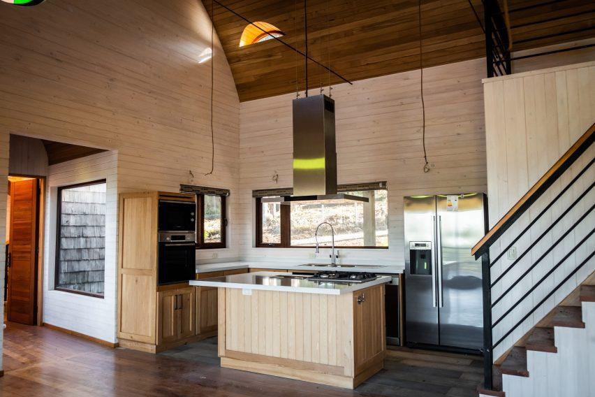 Cocina de madera Walt Home