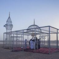 Ajlan Gharem explores Islamophobia and transparency with cage-like mosque