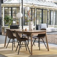Albert Kuip Coffee chair by APE presented at Maison&Objet