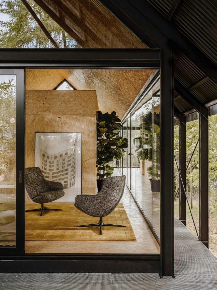 Aston Club Low Back chairs by Jean-Marie Massaud for Arper