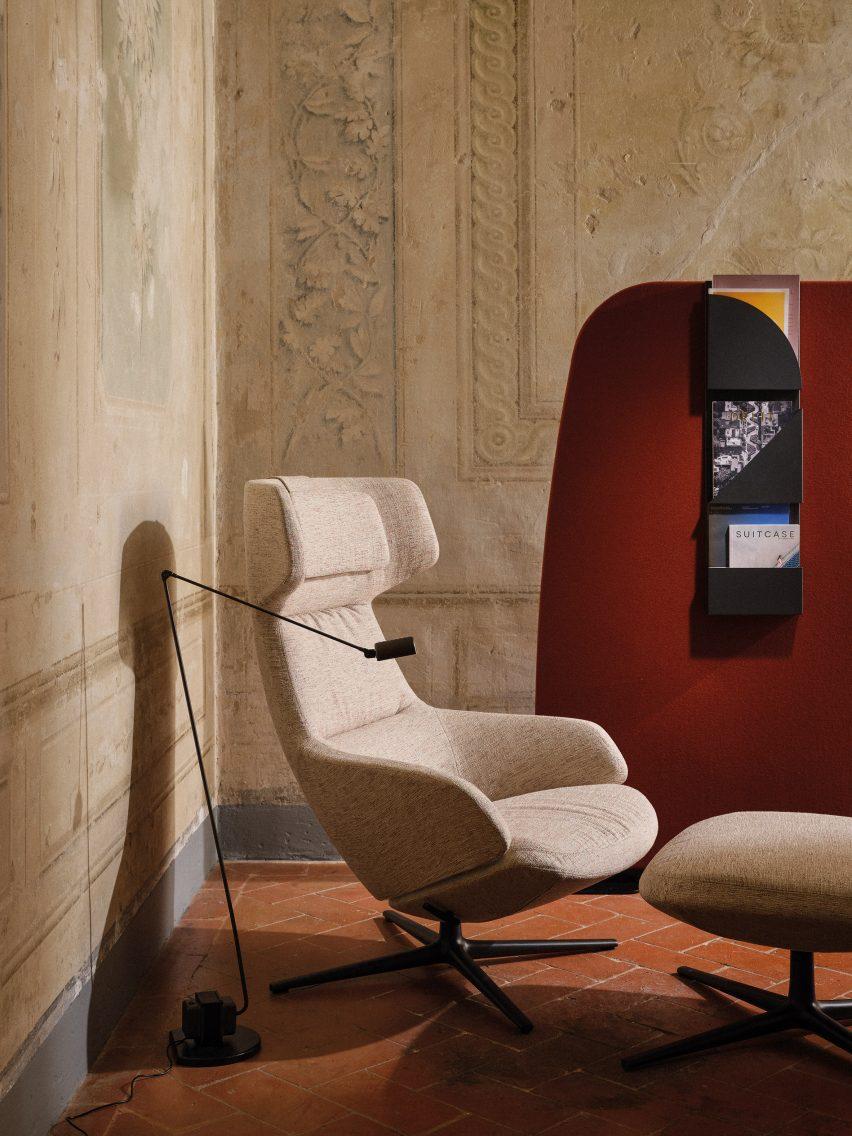 Aston Club chair by Jean-Marie Massaud for Arper