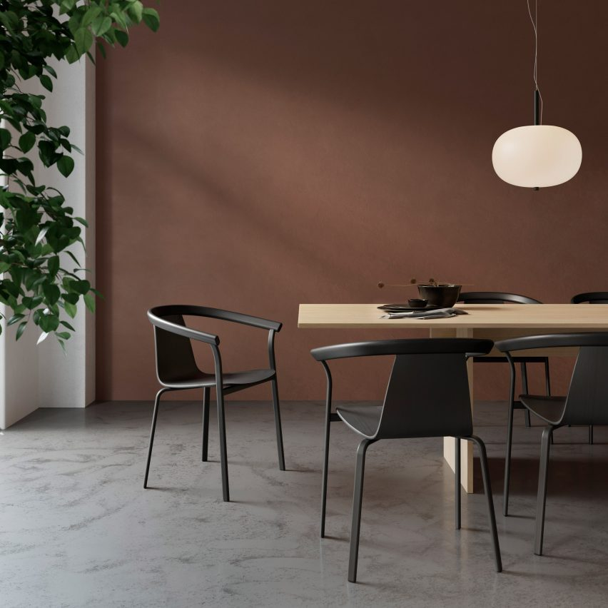 Atal Chair by Form Us With Love for Alki Furniture