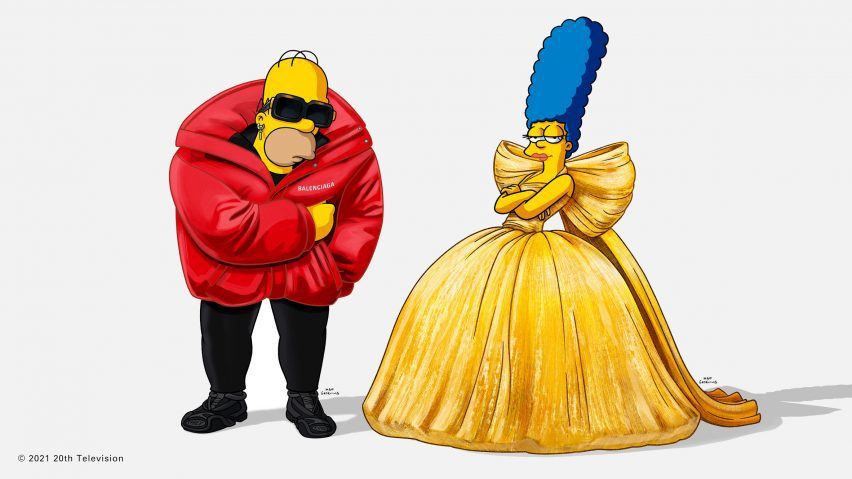 Balenciaga collaborates with Simpsons to launch Spring Summer collection