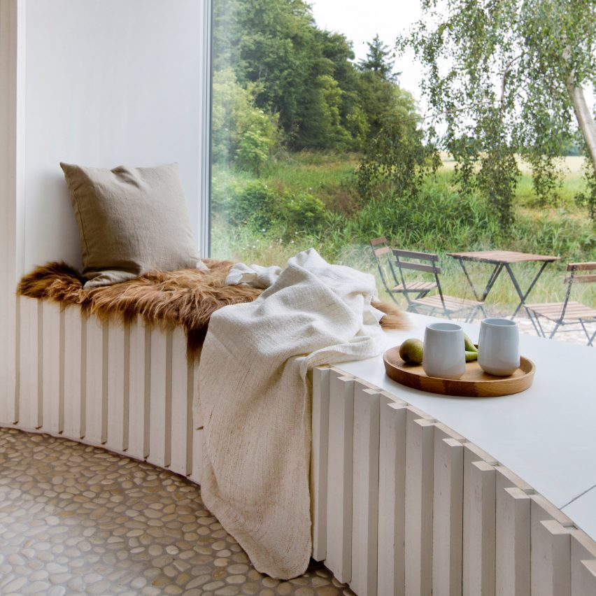 Interiors with window seats