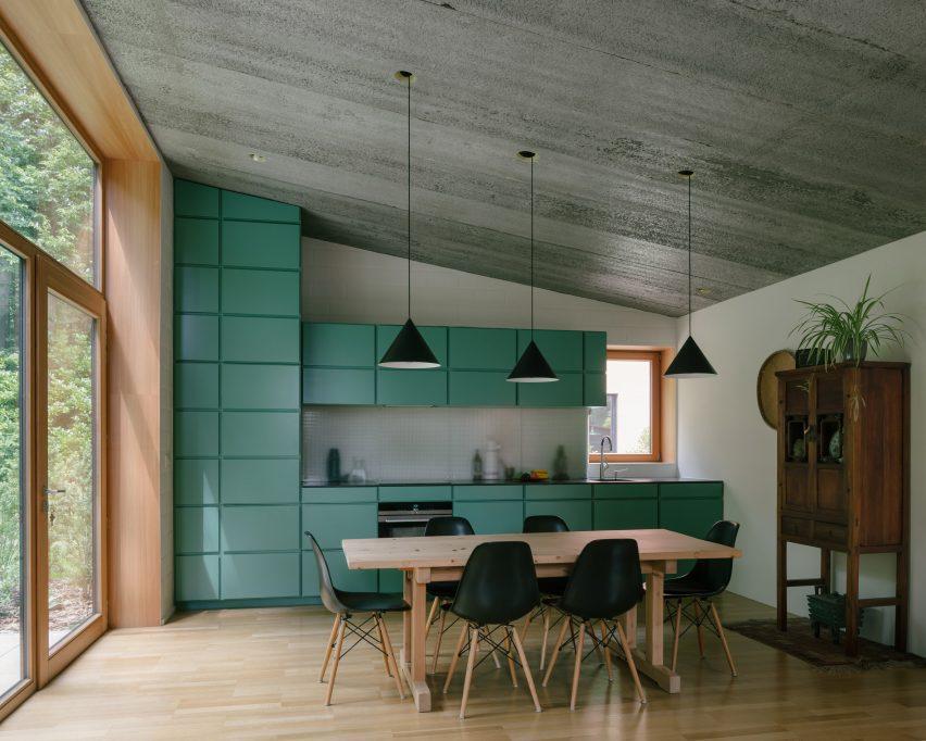 Kitchen in house in Bazel