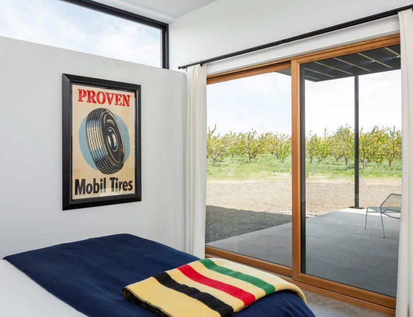Bedroom at Cloud Ranch