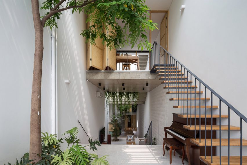 Interior of CH House by ODDO Architects