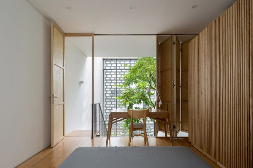 Bedroom in CH House by ODDO Architects