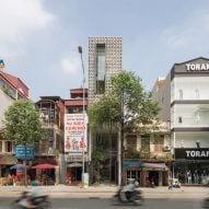 ODDO Architects builds five-storey CH House on four-metre-wide site in Hanoi
