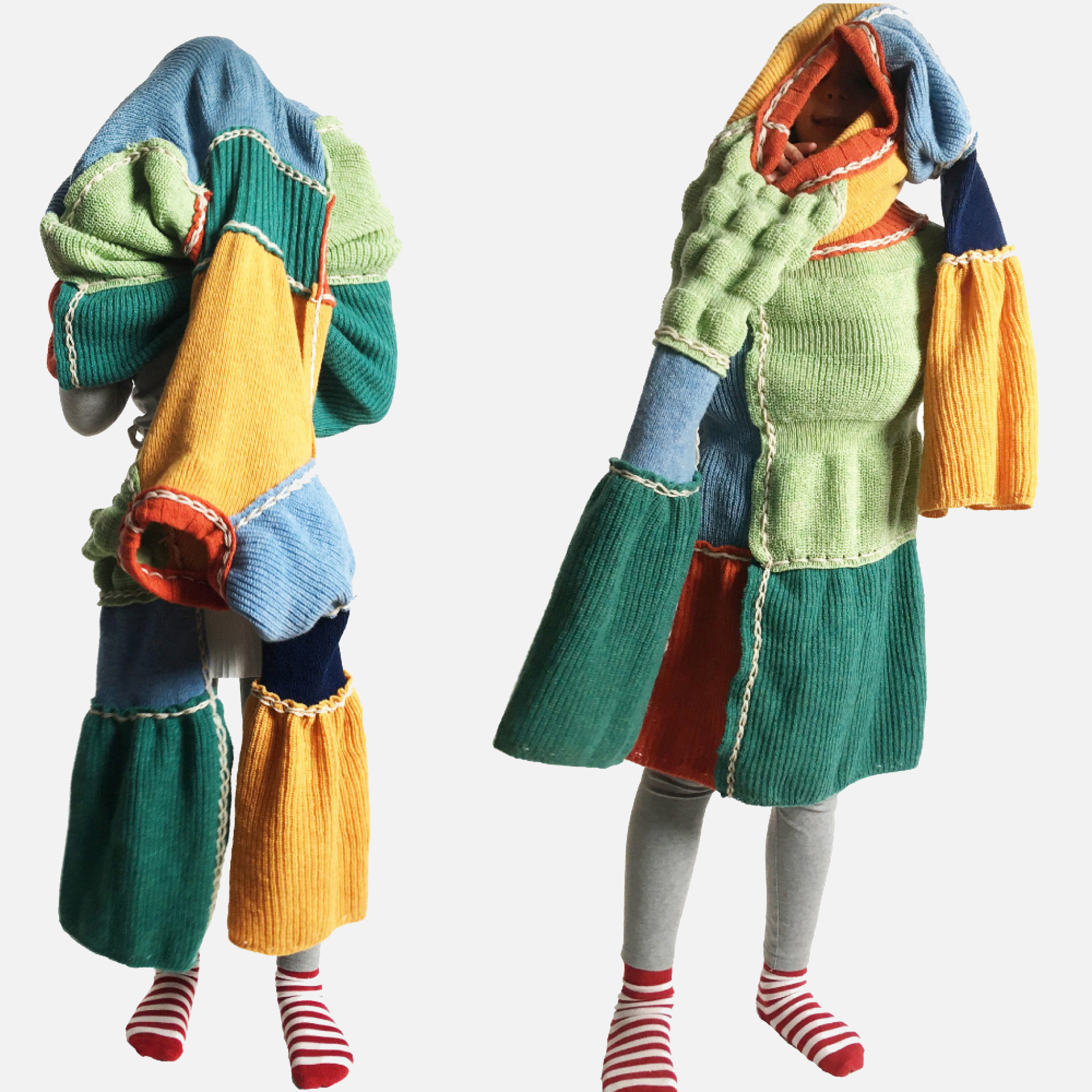 Children's clothes made from a Convertibles kit