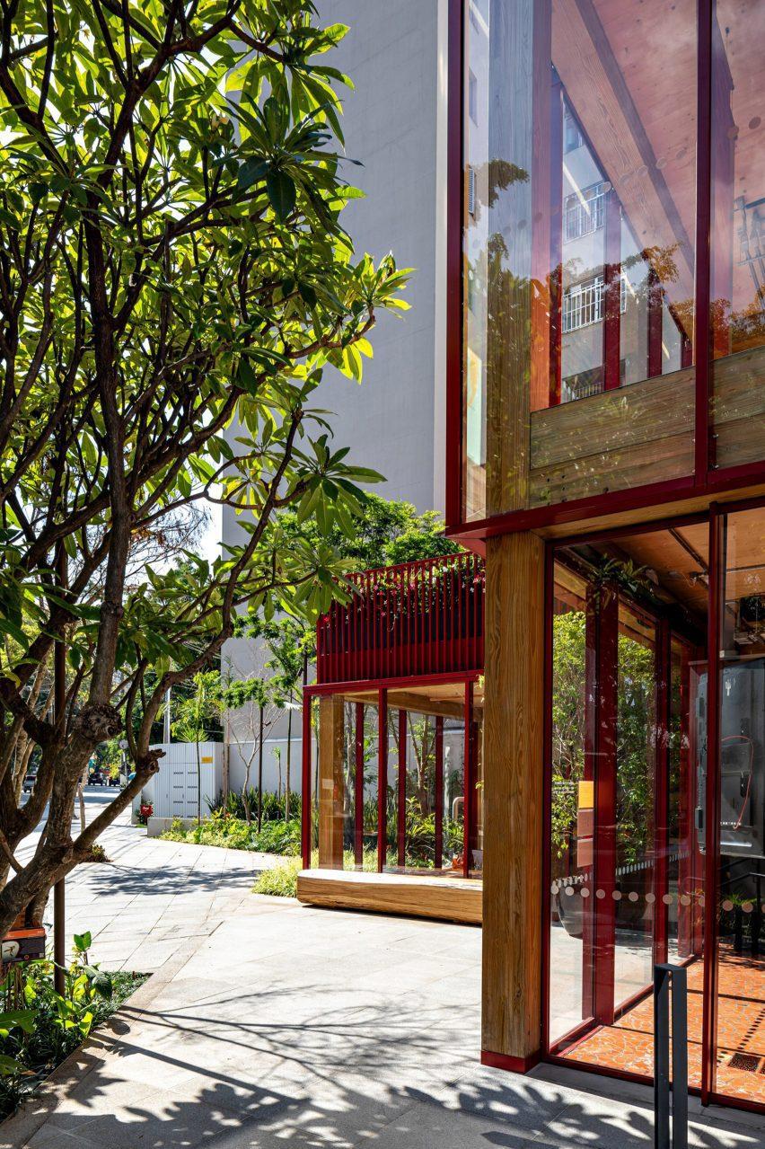 فضای داخلی فروشگاه شکلات دنگو در سائوپائولو ، برزیل