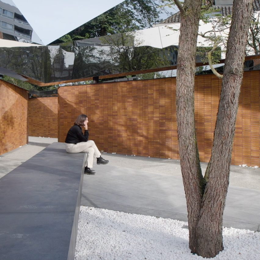 Dutch Holocaust Memorial of Names by Studio Libeskind