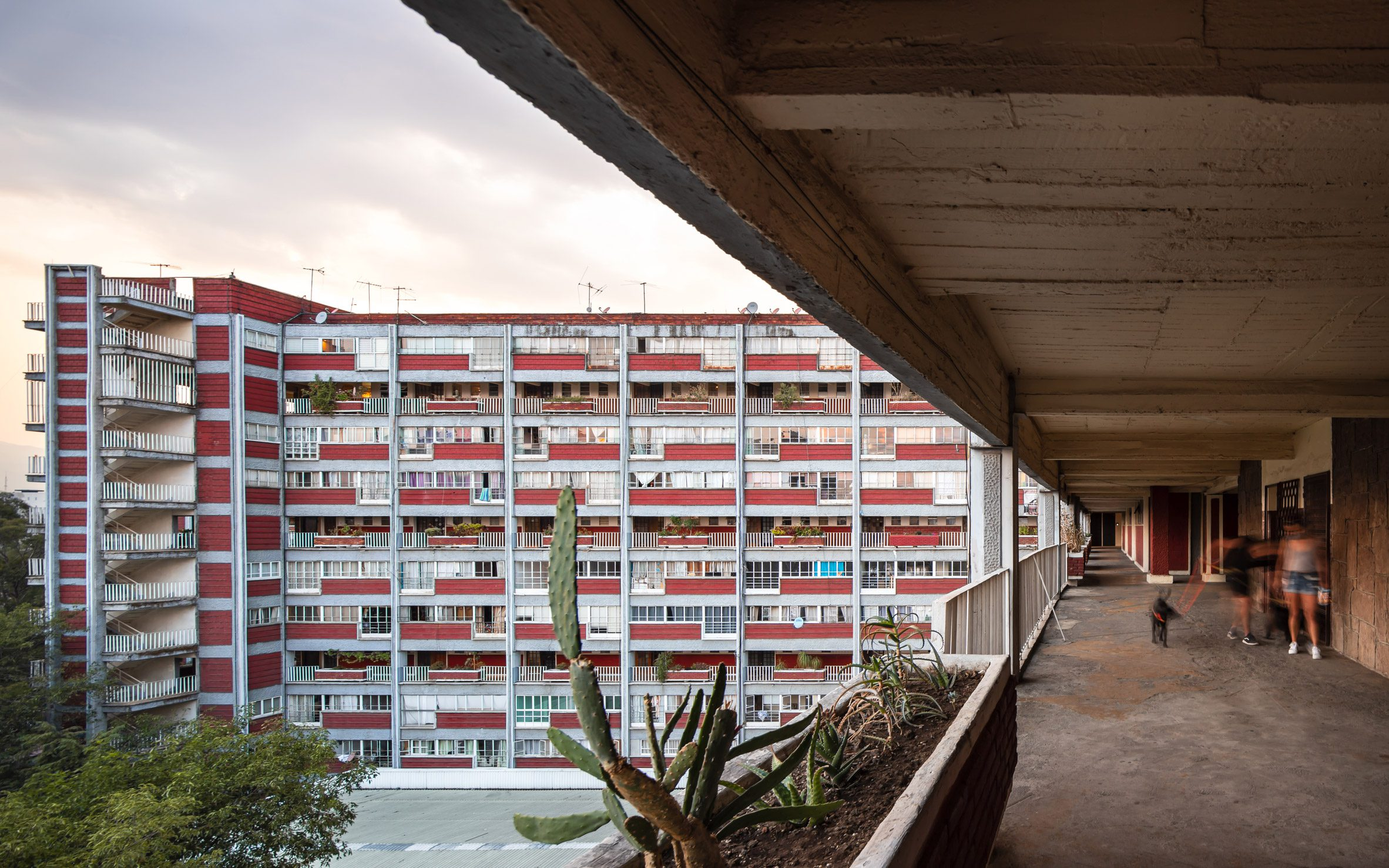 A 1940s housing complex