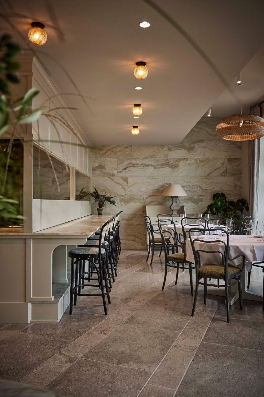 Esmée restaurant by Space Copenhagen