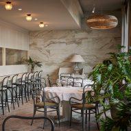 "Space Copenhagen designs Esmée restaurant as ""urban orangery"""