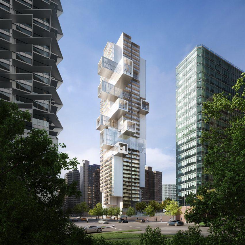Ole Scheeren's Fifteen Fifteen skyscraper in Vancouver moves forward