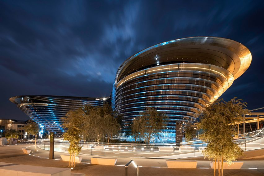 Mobility Pavilion at Dubai Expo by Foster + Partners