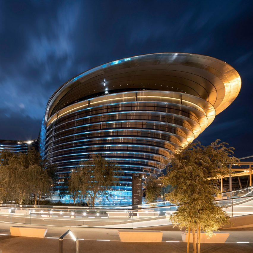 Павильон мобильности на выставке Dubai Expo 2020 от Foster + Partners