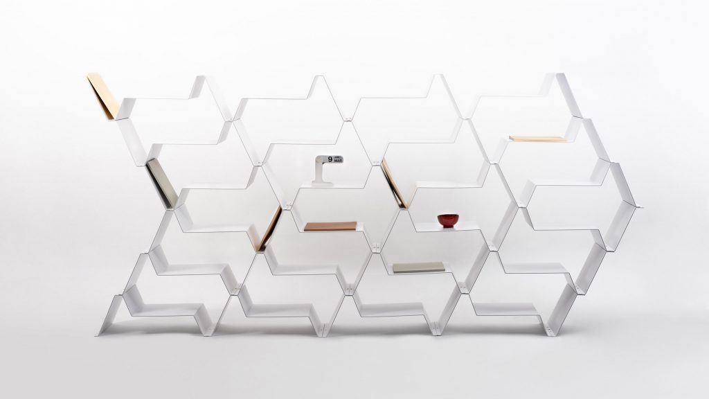 Fréquence shelf by Jean Couvreur for Kataba