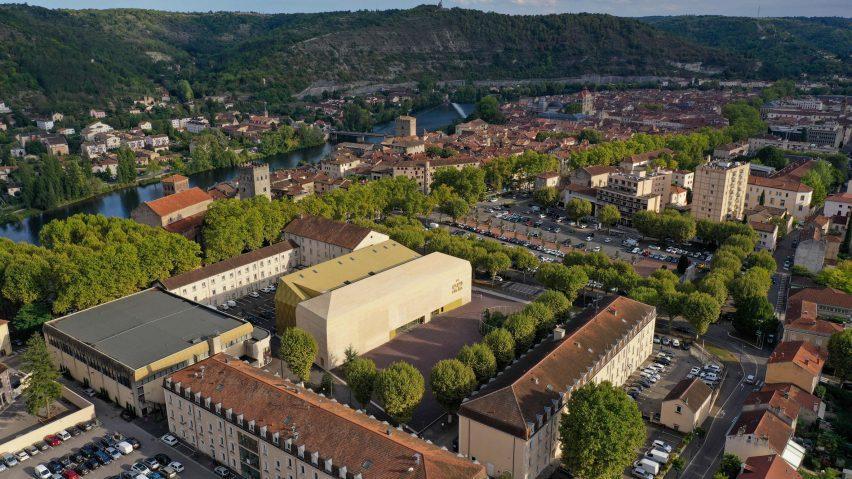 Le cinéma du Grand Palais par l'architecte Antonio Verga