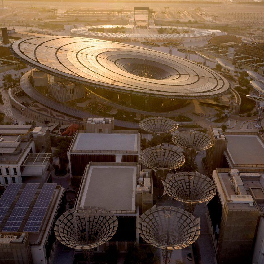 Sustainability Pavilion at Dubai Expo