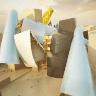 Frank Gehry's Guggenheim museum features in today's Dezeen Weekly newsletter