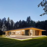 Broadway Malyan completes glazed woodland retreat in the Cotswolds