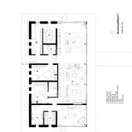 Floor plan of House in The Lakes by Yoo, by Broadway Malyan
