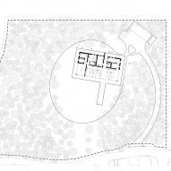 Site plan of House in The Lakes by Yoo, by Broadway Malyan