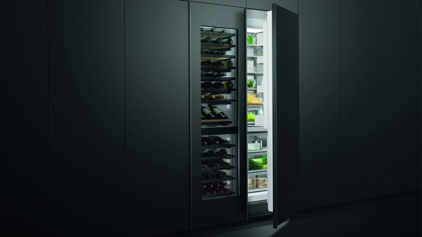 Integrated Column Wine Cabinet by Fisher & Paykel
