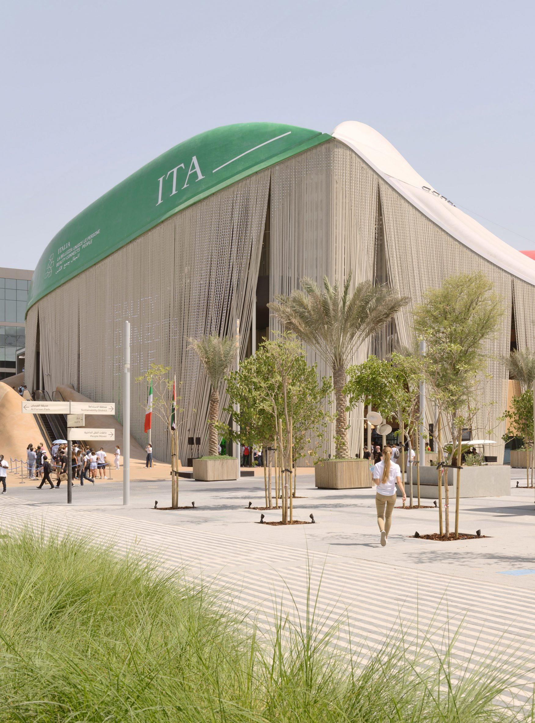 Italy Pavilion at Dubai Expo by Carlo Ratti