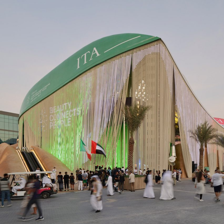 Italy Pavilion Dubai Expo 2020 Carlo Ratti