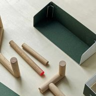 Timber seating collection by Charles Kalpakian