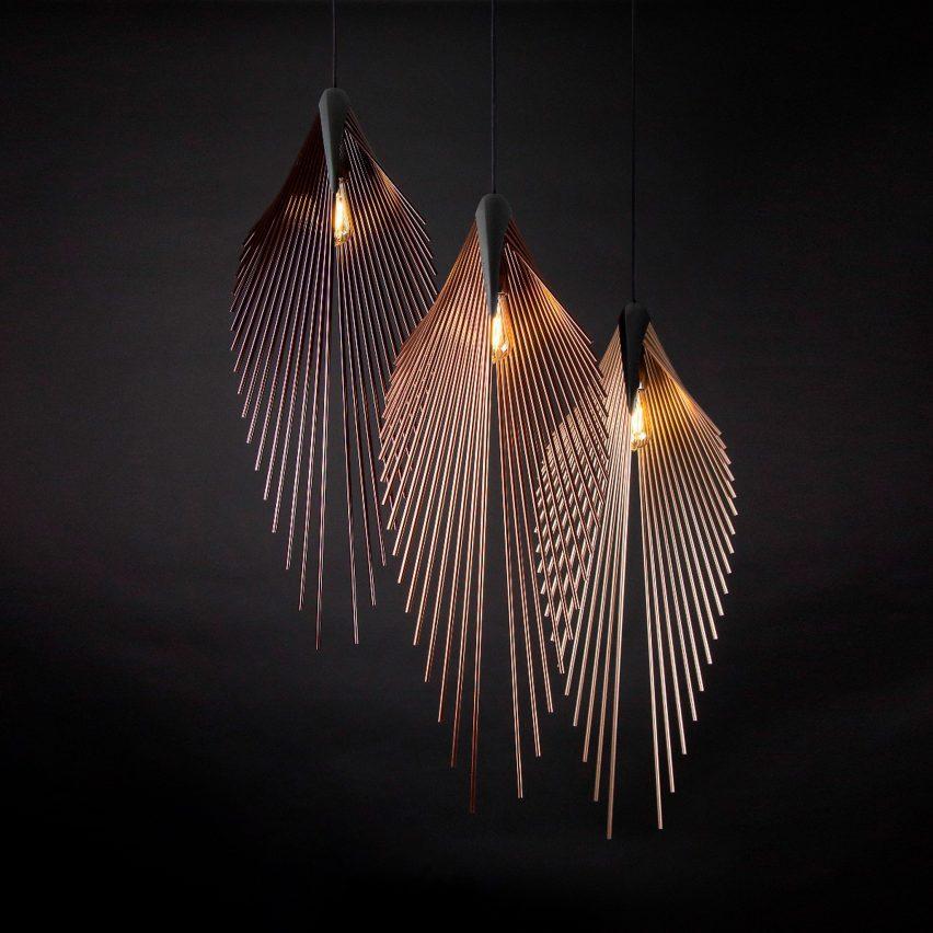Leaf Lamp by Dániel Máto for Loomiosa