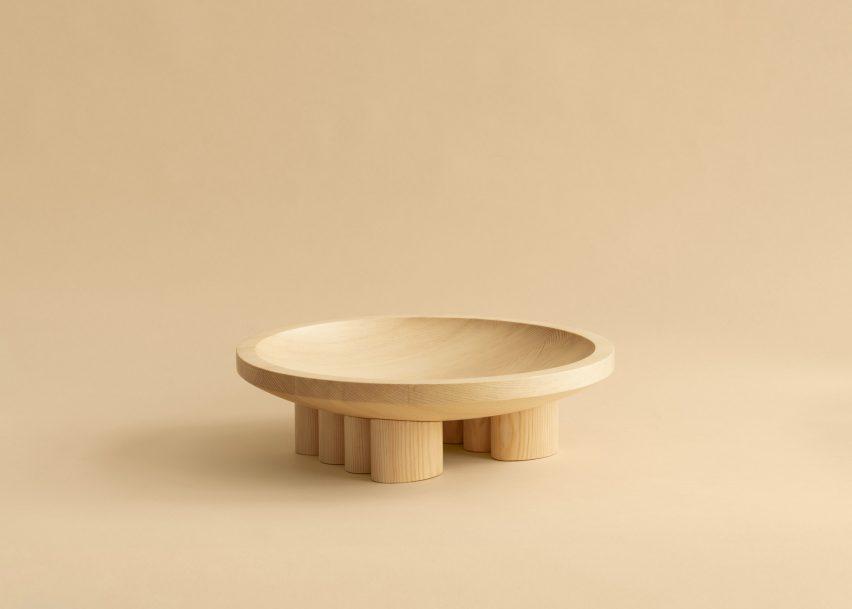 Деревянная чаша от Mac Collins