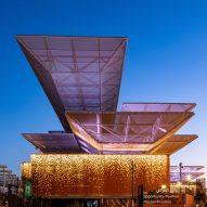 AGi Architects arranges Dubai Expo Opportunity Pavilion around covered plaza