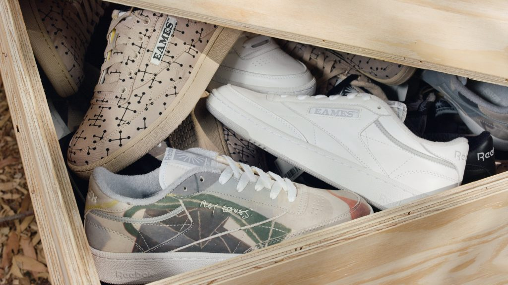 Reebok unveils Eames trainer collection