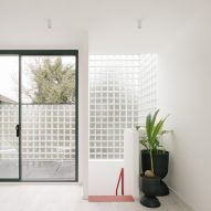 Remi Connolly-Taylor creates her own glass brick-walled London home