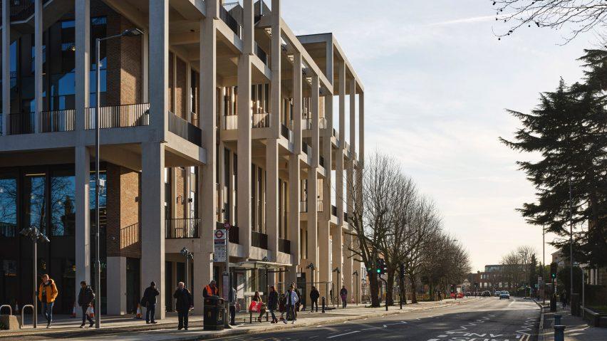 Kingston University London – Town House by Grafton Architects