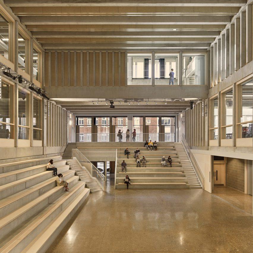 Stirling Prize-winningKingston University London – Town House interior