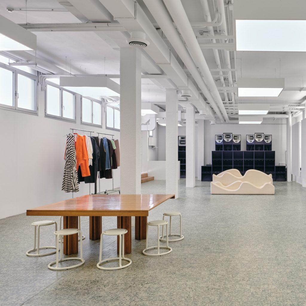 Sunnei transforms former recording studio into new headquarters in Milan