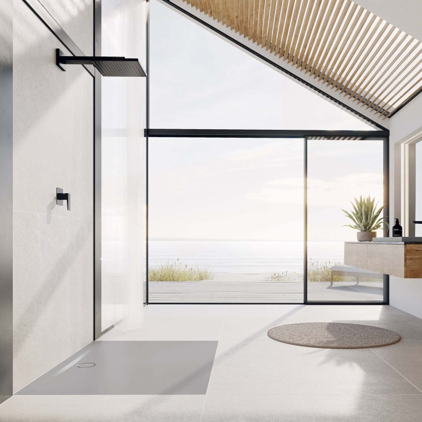 Kaldewei opens up the shower with surface designed by Werner Aisslinger