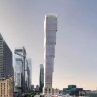 Adjaye Associates proposes inverted supertall skyscraper for New York