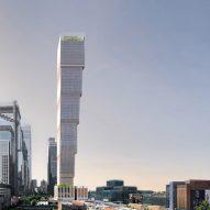 This week David Adjaye unveiled an upside-down skyscraper