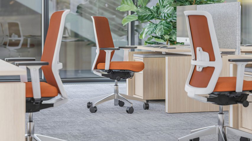 Surf task chair by Narbutas