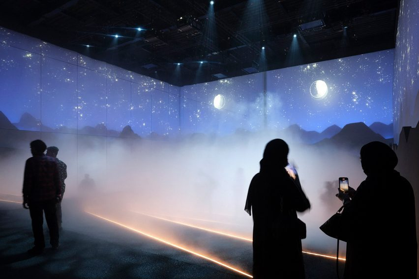 Visitor attraction in Swiss Pavilion