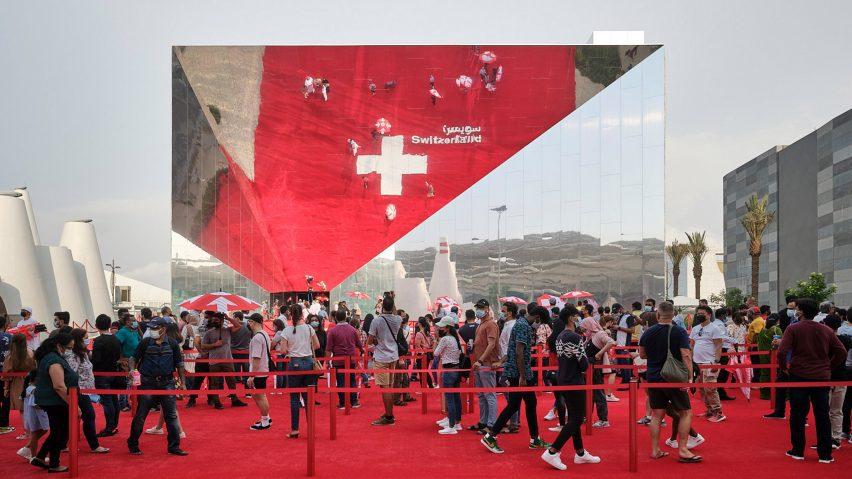Swiss Pavilion at Dubai Expo