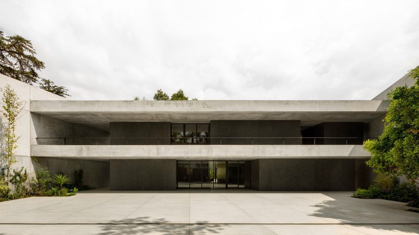 Swiss Residence in Mexico City